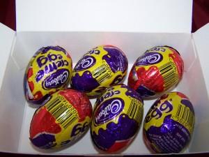Eggs Opened