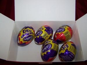 Eggs missing 1